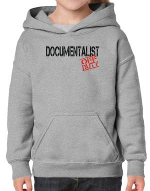 Documentalist - Off Duty Hoodie-Girls
