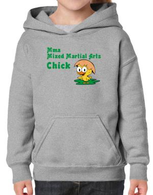 MMA Mixed Martial Arts chick Hoodie-Girls