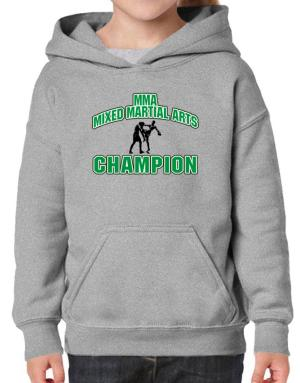 MMA Mixed Martial Arts champion Hoodie-Girls