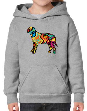 Psychedelic Broholmer Hoodie-Girls