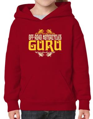 Off Road Motorcycles Guru Hoodie-Girls