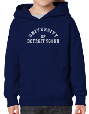 University of Detroit Sound Hoodie-Girls