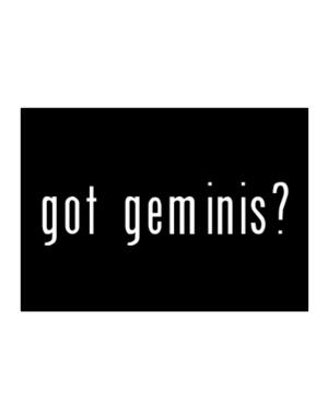 Got Geminis? Sticker