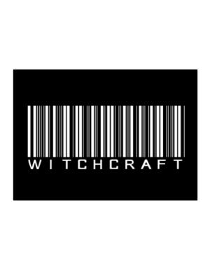 Witchcraft - Barcode Sticker