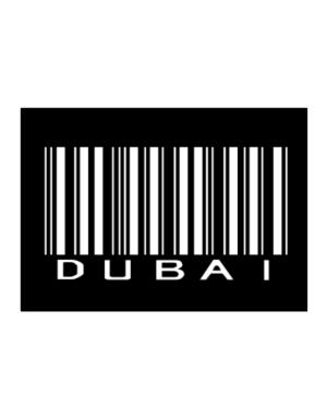 Dubai Barcode Sticker