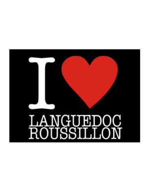 I Love Languedoc-Roussillon Sticker