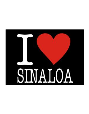 I Love Sinaloa Sticker