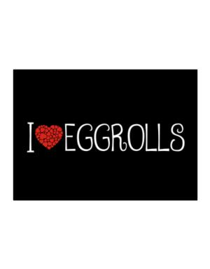 I love Eggrolls cool style Sticker