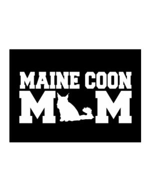 Maine Coon mom Sticker