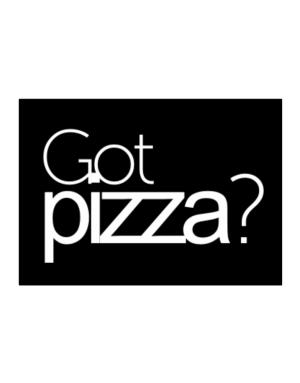 Got Pizza? Sticker