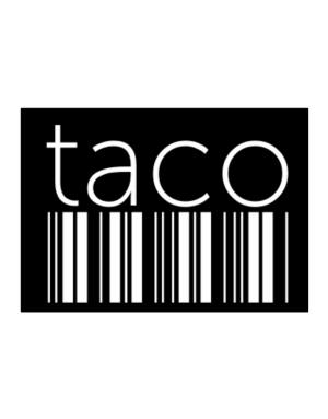 Taco barcode Sticker