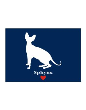 Sphynx love Sticker