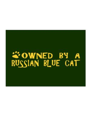 Owned By A Russian Blue Sticker