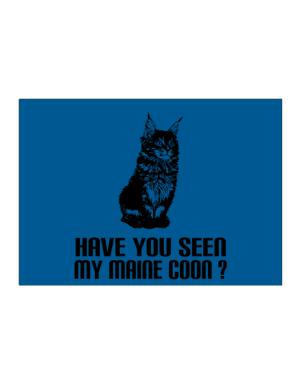 Have you seen my Maine Coon? Sticker