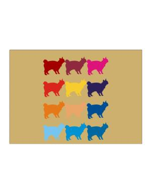 Colorful Japanese Bobtail Sticker
