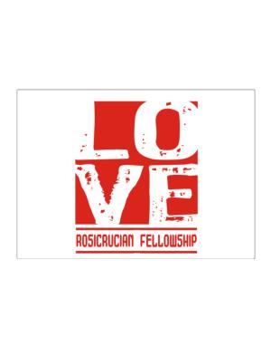 Love Rosicrucian Fellowship Sticker