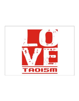 Love Taoism Sticker