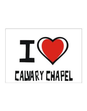 I Love Calvary Chapel Sticker