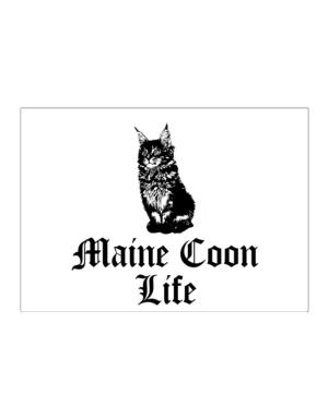 Maine Coon life Sticker