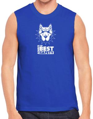 Always the best safety American Pitbull Terrier Sleeveless