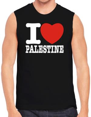 I Love Palestine Sleeveless