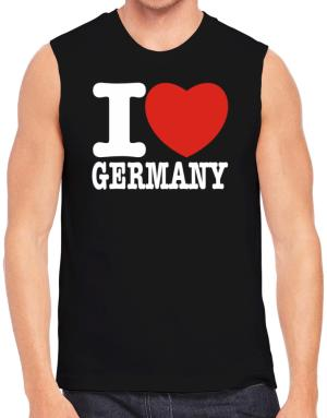 Polo Sin Mangas de I Love Germany