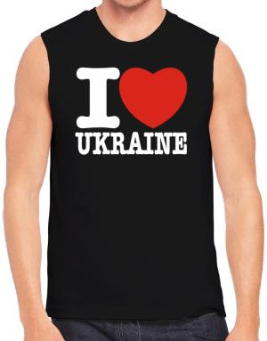 I Love Ukraine Sleeveless