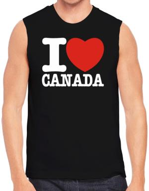 I Love Canada Sleeveless