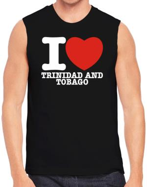 I Love Trinidad And Tobago Sleeveless