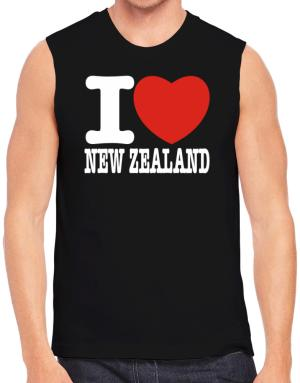 I Love New Zealand Sleeveless