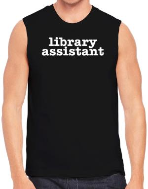 Library Assistant Sleeveless