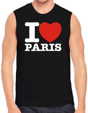 I Love Paris Sleeveless