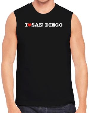 I Love San Diego Sleeveless