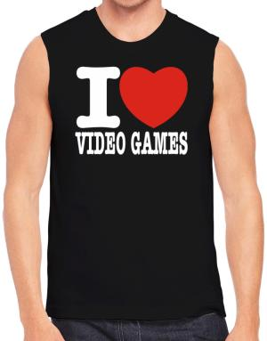 Polo Sin Mangas de I Love Video Games