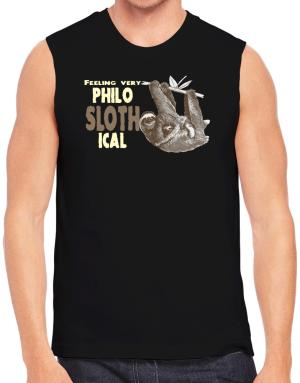 Philosophical Sloth Sleeveless