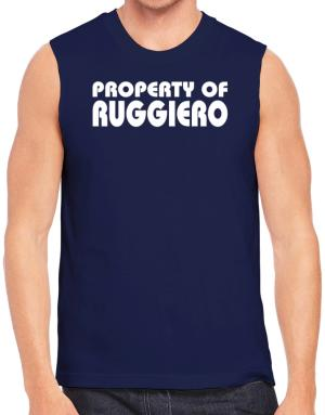 "Polo Sin Mangas de "" Property of Ruggiero """