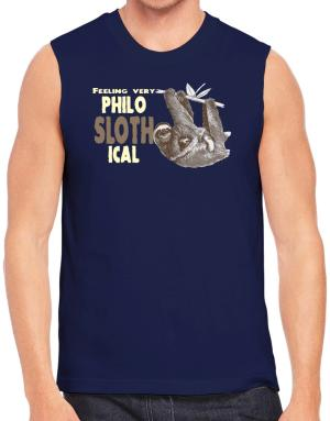 Camisetas Sin Mangas de Philosophical Sloth