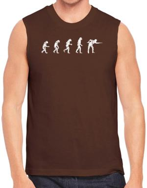 Evolution of a pool player Sleeveless