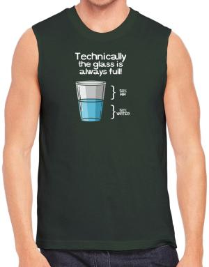 Technically the glass is always full! Sleeveless