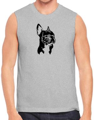 French Bulldog Face Special Graphic Sleeveless