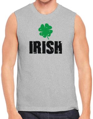 Irish shamrock vintage Sleeveless