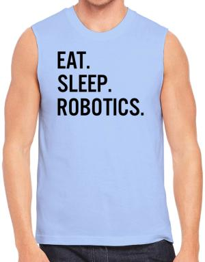 Polo Sin Mangas de Eat sleep robotics