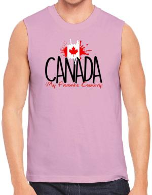 Canada my favorite country Sleeveless