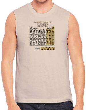Periodic Table of Beer Sleeveless