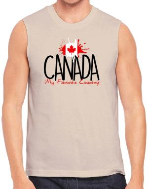 Playeras Sin Mangas de Canada my favorite country