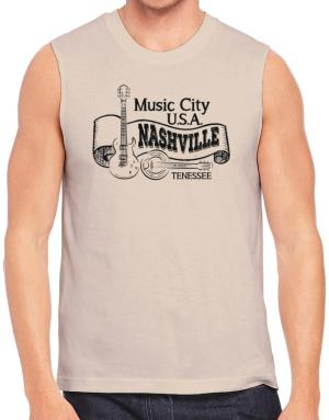 Music city Usa Nashville Tennessee Sleeveless