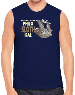 Playeras Sin Mangas de Philosophical Sloth