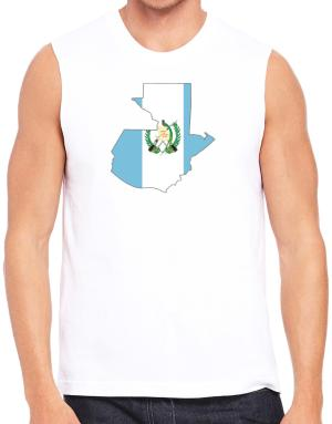 Guatemala - Country Map Color Simple Sleeveless