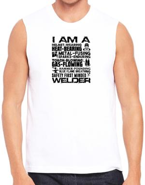 I am a welder Sleeveless