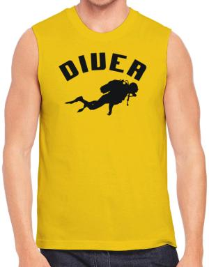 Diver Scuba Diving Sleeveless